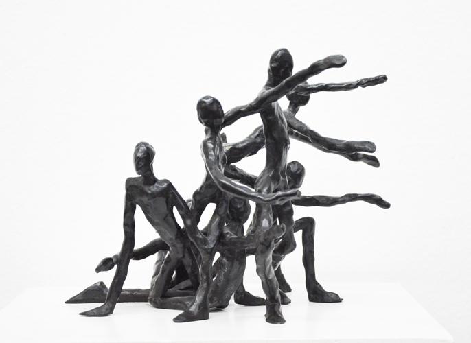 Figurengruppe II  Bronze  2/10 verkauft