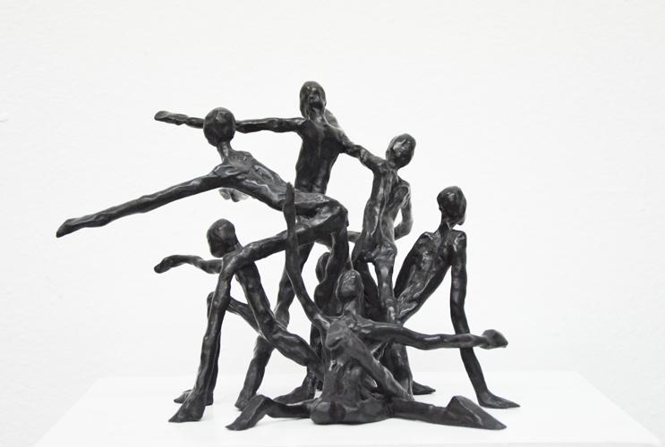 Figurengruppe II 2013 Bronze  2/10 verkauft