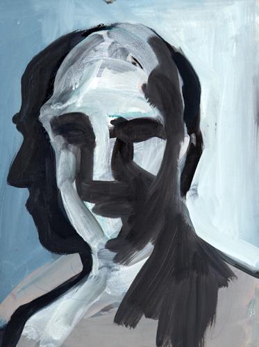 Kopf V 2012 Öl auf LW, 29 x 21 cm