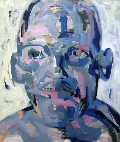 Kopf 6-14 2014 Öl auf LW, 140 x 120 cm