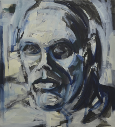 Sabert . 2007-011 Acryl und Öl auf LW . 120 x 110 cm