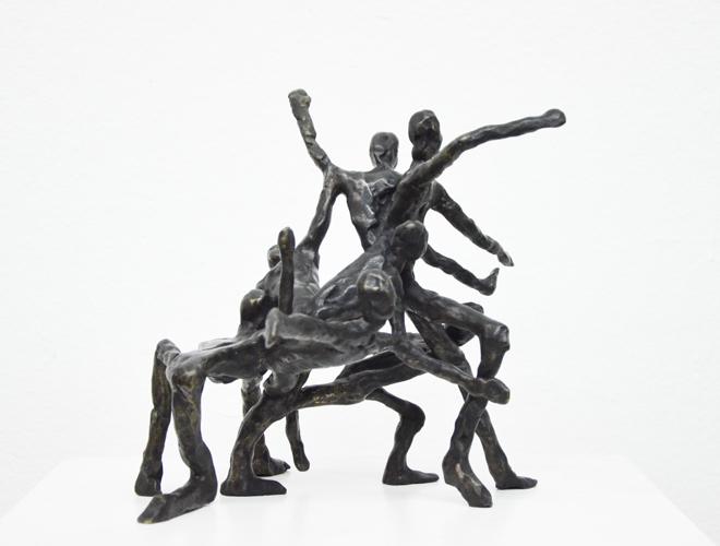 Figurengruppe I Bronze 2013  1/10 verkauft