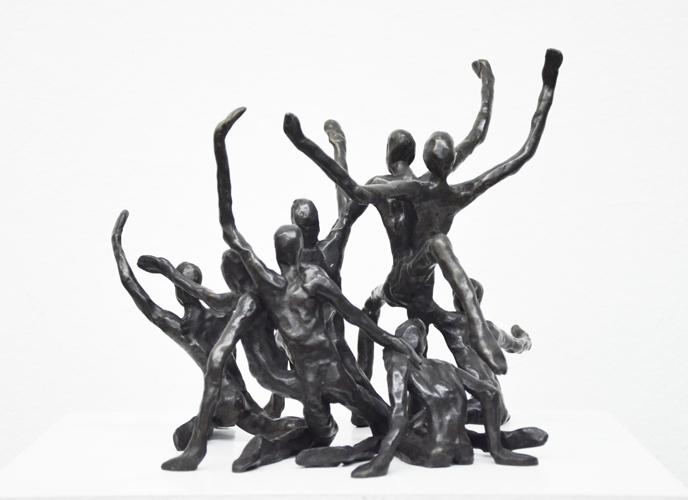 Skulpturengruppe III 2013 Bronze  1/10 verkauft