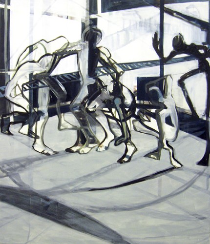 Seelentanz 2011 Öl auf LW, 210 x 180 cm