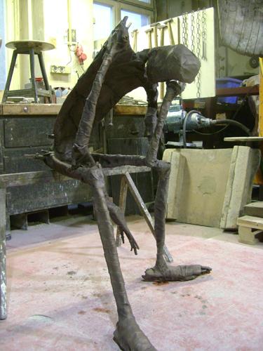 Sitzender . 2015 . SOLD 1/5 Bronze . 112 x 78 x 105 cm