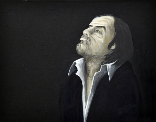 Alter Mann . 2002 Öl auf LW . 70 x 90 cm